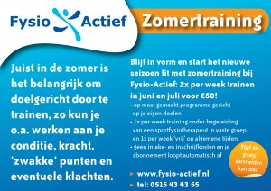 zomertraining social media