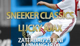 Voorstellen van de Sneeker Classics vs. Lucky Ajax deel 1