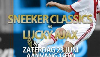 Status kaartverkoop Sneeker Classics – Lucky Ajax