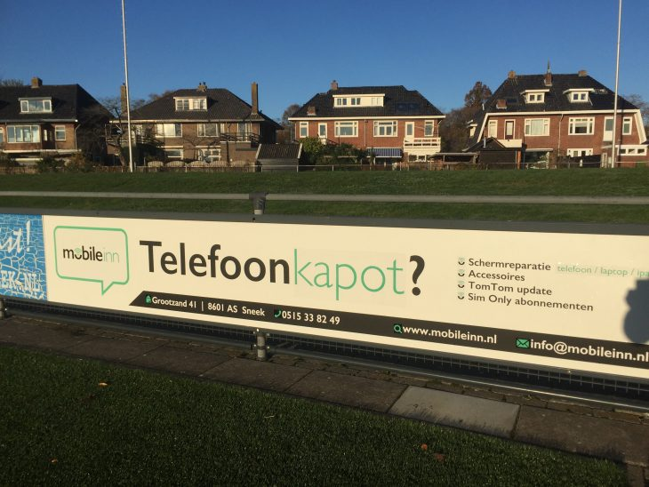 Mobile Inn is nieuwe bordsponsor LSC