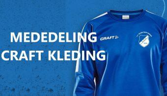 Mededeling Craft kleding