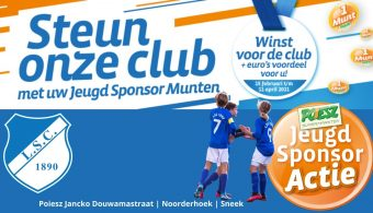 Update 7/4: jeugd sponsoractie Poiesz