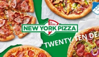 Sponsoractie New York Pizza