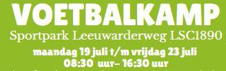 Voetbalkamp: Voetbal talentenschool Friesland